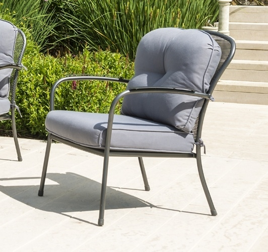 Alexander Rose Portofino Lounge Armchair with Cushions