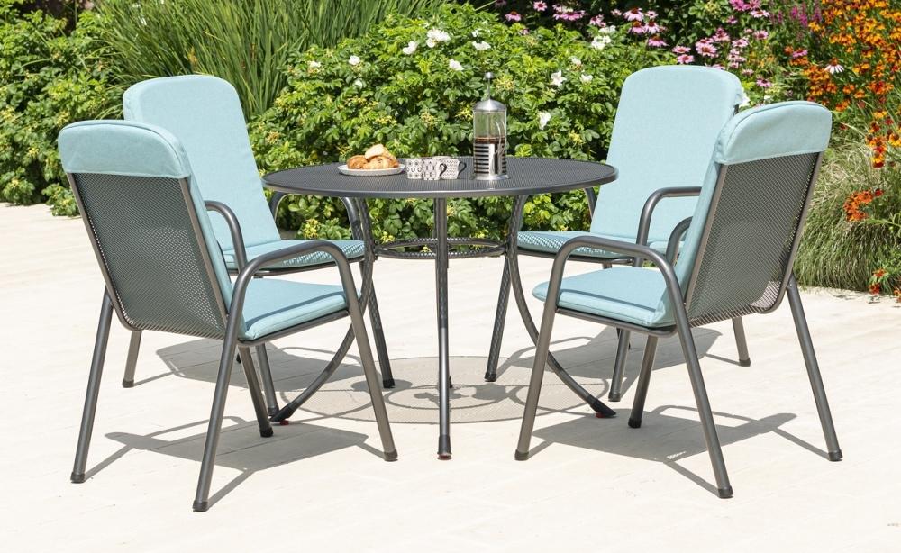 Alexander Rose Portofino 105cm Round Dining Table