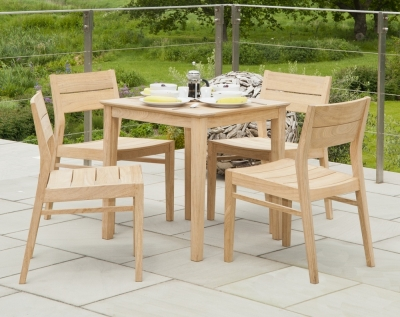 Alexander Rose Roble Square Cafe Dining Table