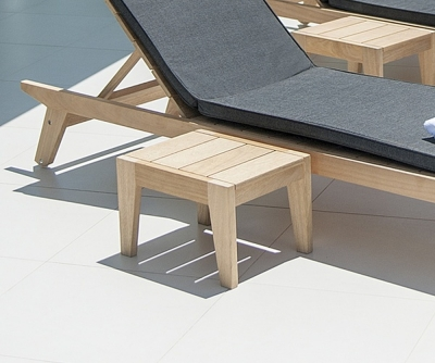 Alexander Rose Roble Sunbed Side Table