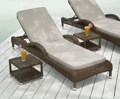 Alexander Rose San Marino Adjustable Sunbed
