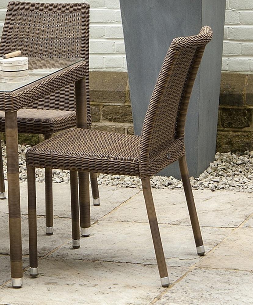 Alexander Rose San Marino Stacking Dining Chair (Pair)