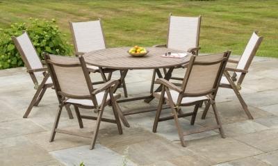 Alexander Rose Sherwood 140cm Round Folding Dining Table