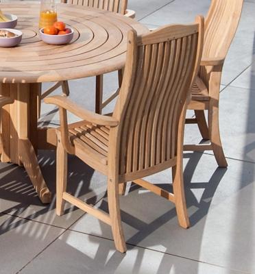 Alexander Rose Sherwood Bengal Dining Chair (Pair)