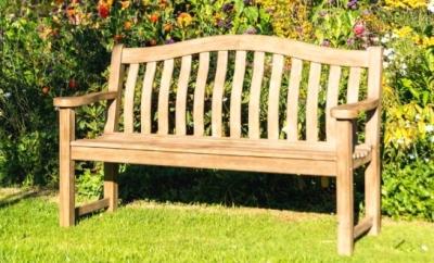 Alexander Rose Sherwood Turnberry Bench 4ft