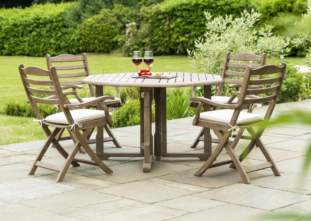 Alexander Rose Sherwood 120cm Round Gateleg Dining Table