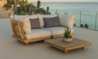 Alexander Rose Sorrento Corner Lounge with Cushion