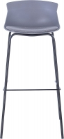 Alphason Helena Grey Bar Stool