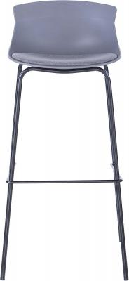 Alphason Helena Grey Bar Stool - ABS7085GRY