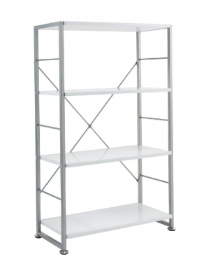 Alphason Cabrini White Bookcase