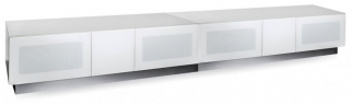 Alphason Element White TV Cabinet for 98inch - EMTMOD2500-WHI