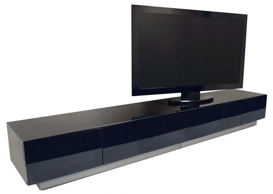 Alphason Element Black TV Cabinet for 98inch - EMTMOD2500-BLK