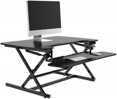 Alphason Riser Black Height Adjustable Desk - AW9150-BLK