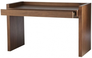 Alphason Campbell Walnut Premium Wood Furniture - AW75018