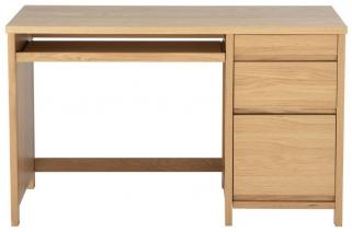 Alphason Hunter White Oak Premium Wood Furniture - AW7510A