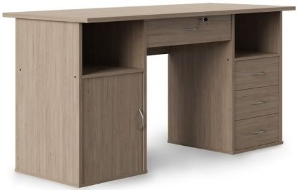 Alphason Dallas Oak Computer Desk - AW12289OAK