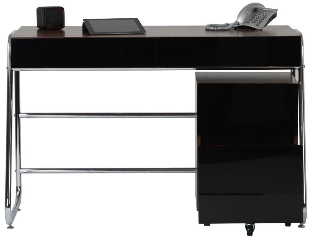 Alphason Juo Black Walnut Premium Wood Furniture - ALT63222-W