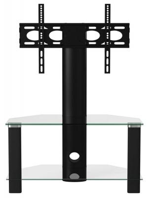 Alphason Century Black Corner TV Cabinet 36inch - ADCEC800BLK