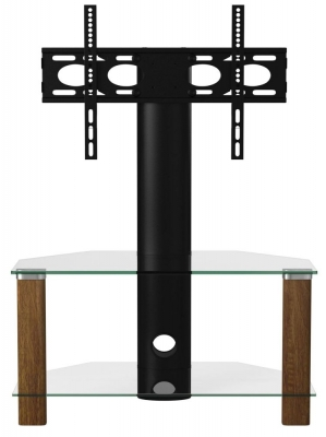 Alphason Century Walnut Corner TV Cabinet 36inch - ADCEC800WAL