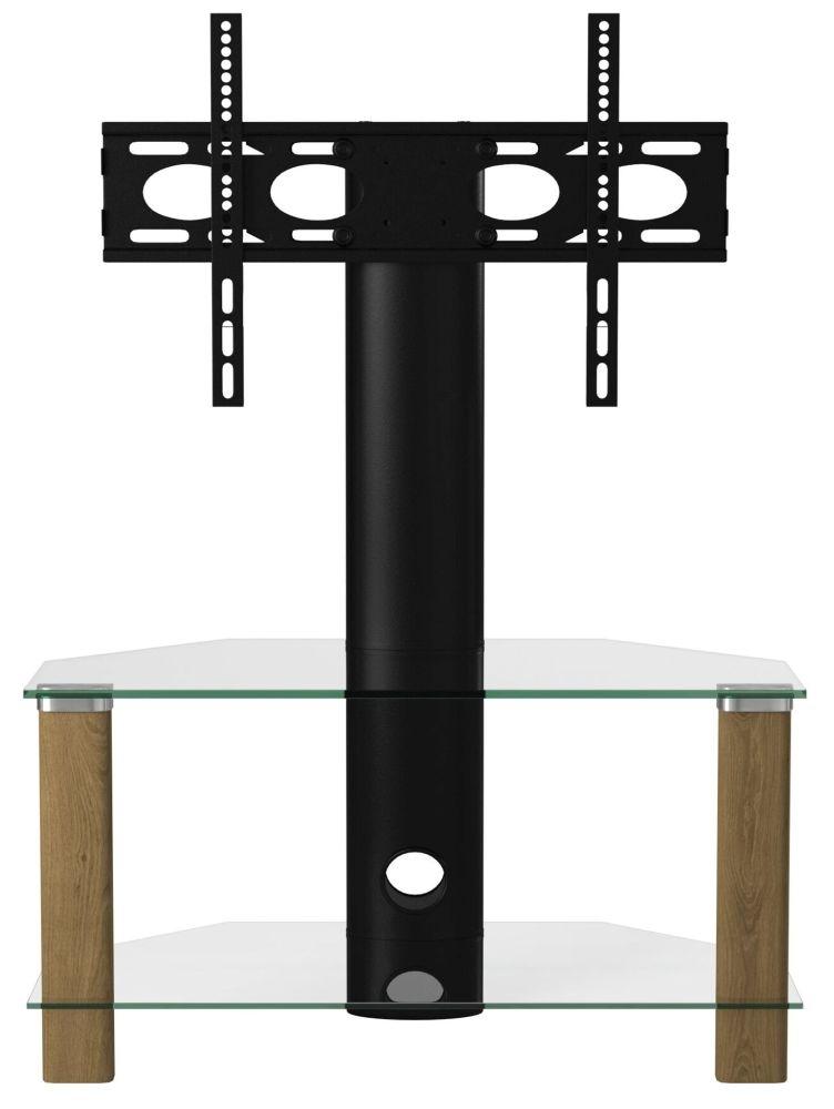 Alphason Century Light Oak Corner TV Cabinet 36inch - ADCEC800LO