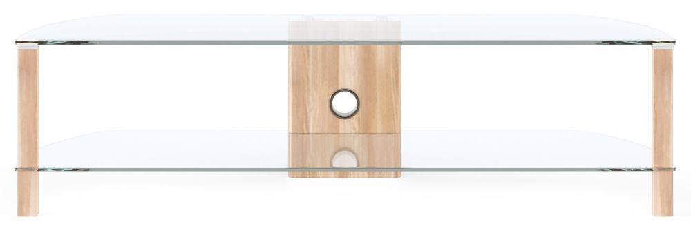 Alphason Century Light Oak TV Cabinet 58inch - ADCE1500-LO