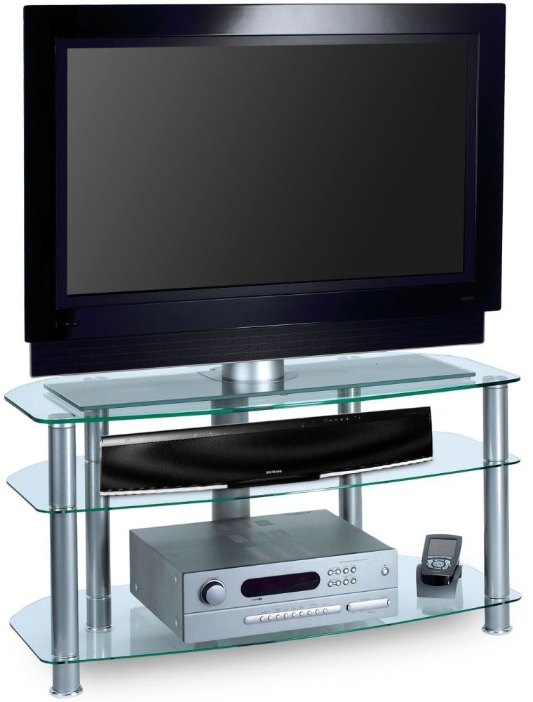 Alphason Sona Glass TV Unit - AVCR42-3-G