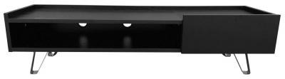 Alphason Bella Black TV Cabinet 58inch - ADBE1500BLK