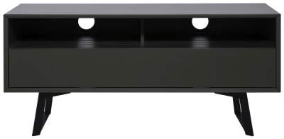 Alphason Carbon Grey TV Cabinet 55inch - ADCA1200-GRY