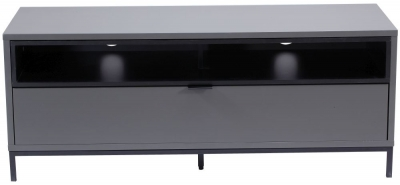 Alphason Chaplin Charcoal TV Cabinet 52inch - ADCH1135-CH