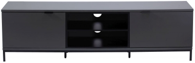 Alphason Chaplin Charcoal TV Cabinet 70inch - ADCH1600-CH