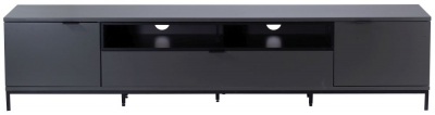 Alphason Chaplin Charcoal TV Cabinet 90inch - ADCH2000-CH