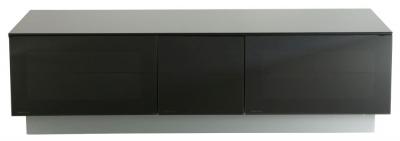 Alphason Element Modular Black TV Cabinet 58inch - EMT1250XL-BLK