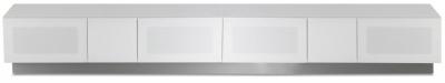 Alphason Element Modular White TV Cabinet 58inch - EMT2500XL-WHI