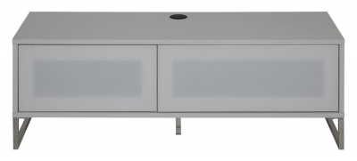 Alphason Helium White TV Cabinet 55inch - ADHE1200-WHI