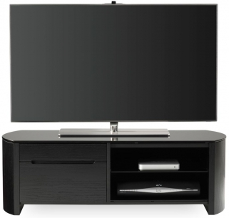 Alphason Finewood  Black Oak TV Cabinet - FW1100CB