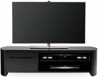Alphason Finewood  Black Oak TV Cabinet - FW1350CB