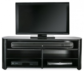 Alphason Finewood  Black Oak TV Cabinet - FW1350SB-BLK