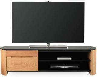 Alphason Finewood  Light Oak TV Cabinet - FW1350CB