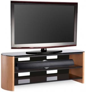 Alphason Finewood  Light Oak TV Unit - FW1350