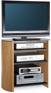 Alphason Finewood  Light Oak TV Unit - FW750-4