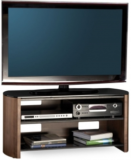 Alphason Finewood Walnut TV Unit for 50inch - FW1100-W/B