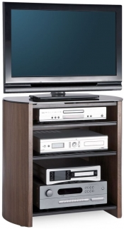 Alphason Finewood Walnut TV Unit for 32inch - FW750/4-W/B
