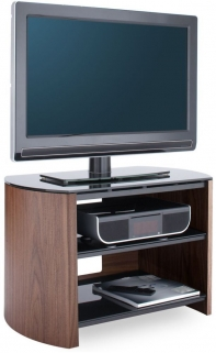 Alphason Finewood Walnut TV Unit for 32inch - FW750-W/B