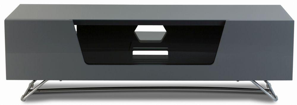 Alphason Chromium Cab Grey TV Cabinet 55inch - CRO2-1200CB-GRY