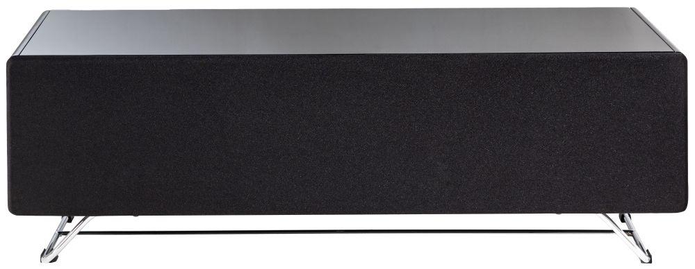 Alphason Chromium Concept Black TV Cabinet 55inch - CRO2-1200CPT-BK