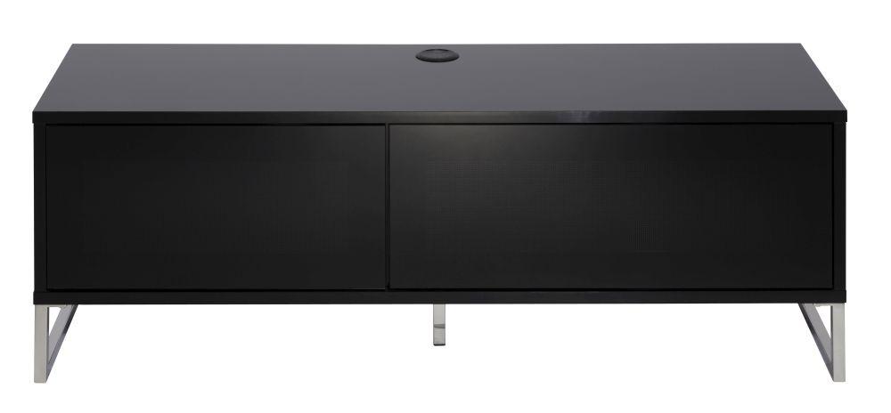Alphason Helium Black TV Cabinet 55inch - ADHE1200-BLK