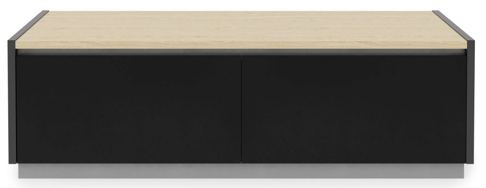 Alphason Horizon Light Oak TV Cabinet 55inch - ADHO1200