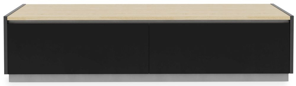 Alphason Horizon Light Oak TV Cabinet 70inch - ADHO1600