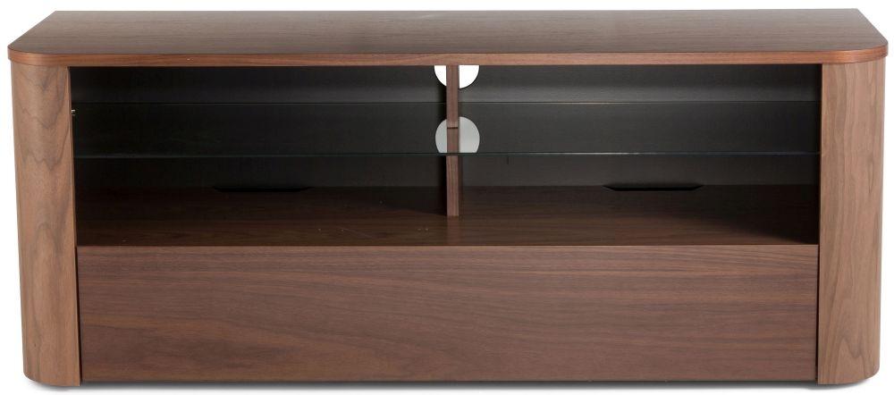 Alphason Hugo Walnut TV Cabinet W 126cm - ADH1260-WAL