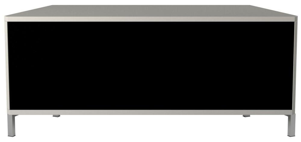 Alphason Hyde White TV Cabinet 55inch - ADHY1200WHT